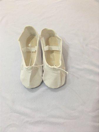 Sapatilha Branca Ballet