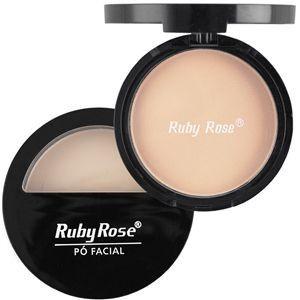 Pó Compacto com Espelho HB7200 - Ruby Rose