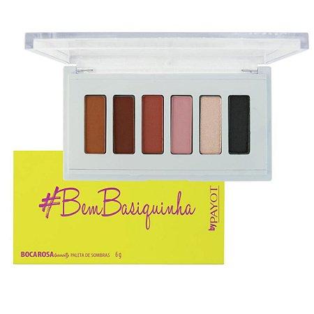Paleta de Sombras #BemBasiquinha Boca Rosa Beauty - Payot