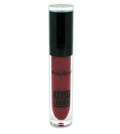 Batom Liquido Cor 075 - Ruby Rose
