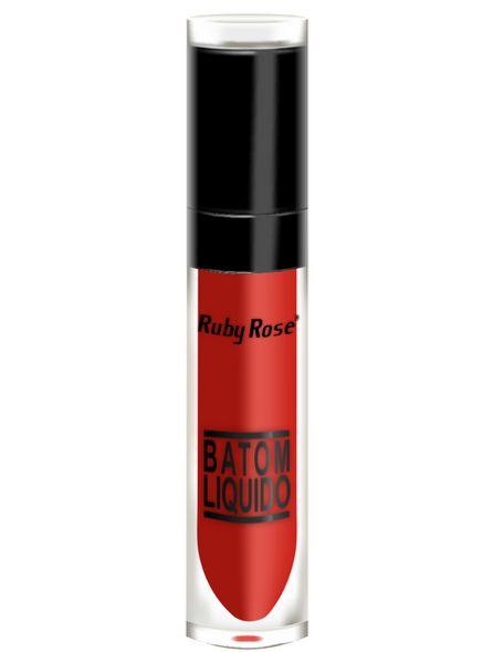 Batom Liquido Cor 019 - Ruby Rose