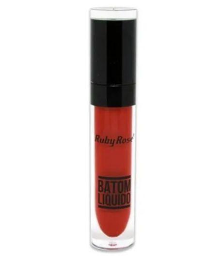 Batom Liquido Cor 033 - Ruby Rose
