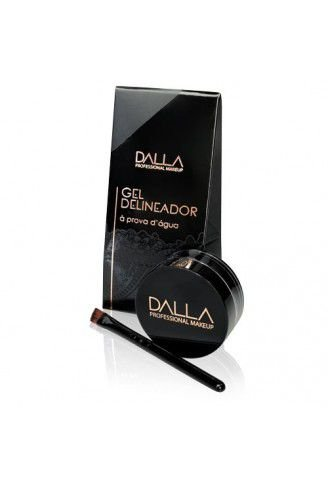 Gel Delineador à Prova D'água - Dalla Makeup