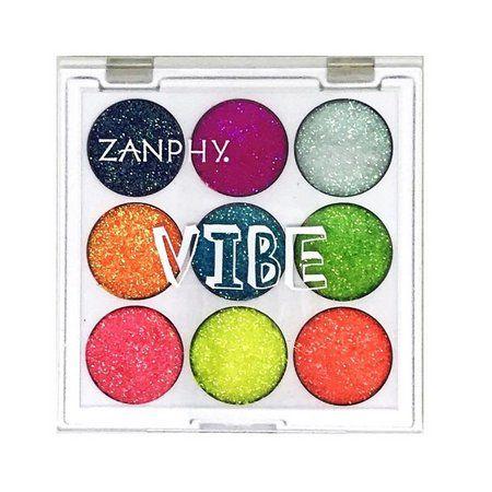 Paleta de Glitter Neon Linha Vibe 01 - Zanphy