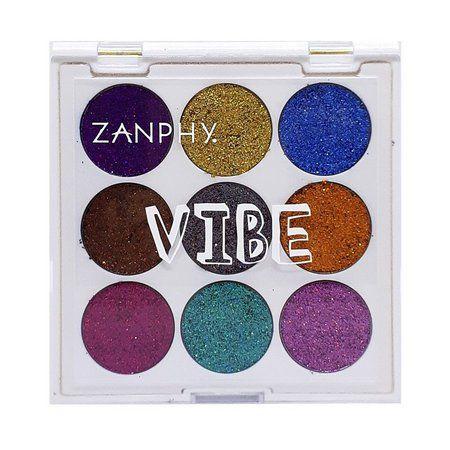Paleta de Glitter Holográfico Linha Vibe 01 - Zanphy