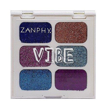 Paleta de Glitter Linha Vibe 02 - Zanphy