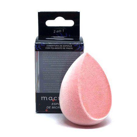 Esponja de Microfibra para Maquiagem - Macrilan