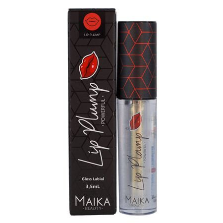 Gloss para Crescimento Labial Lip Plump Powerful - Maika Beauty