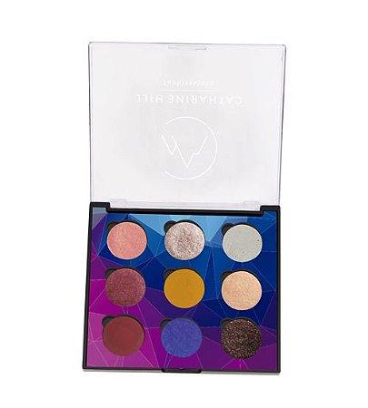 Paleta de Sombras 9 Cores Dream Colors - Catharine Hill