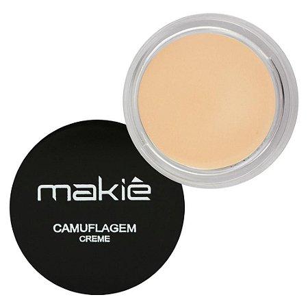 Camuflagem em Creme Vanilla - Makiê