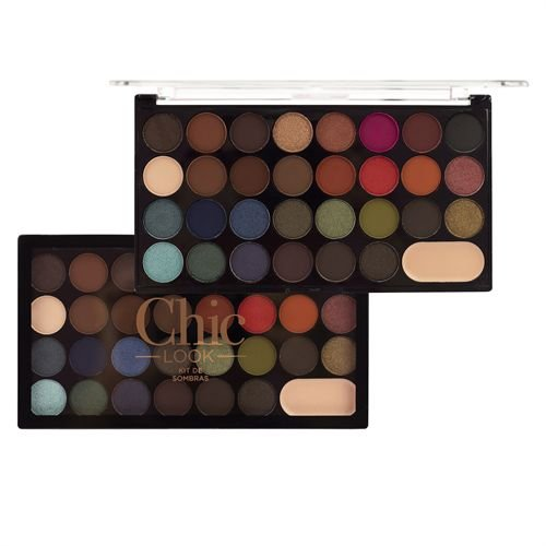 Kit de Sombras 30 Cores Chic Look - Ruby Rose