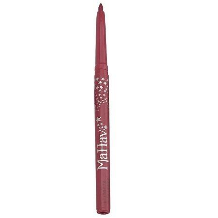 Lápis Delineador Retrátil para Lábios Rosado - Mahav