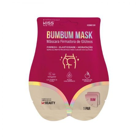 Máscara Firmadora de Glúteos Bumbum Mask - Kiss NY