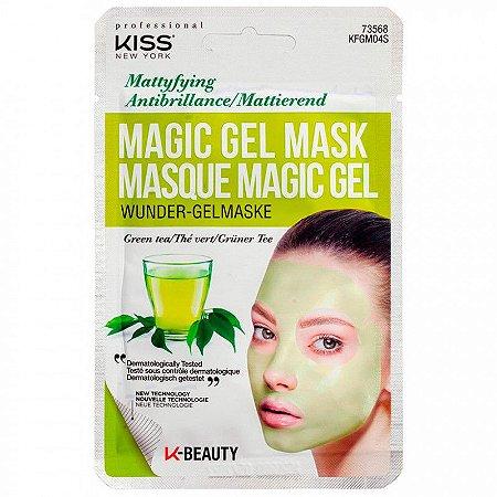Máscara Facial Magic Gel Chá Verde - Kiss NY
