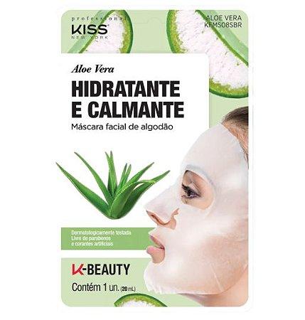 Máscara Facial Aloe Vera Hidratante e Calmante - Kiss NY