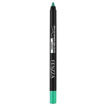 Lápis Delineador Para Olhos Verde - Fenzza