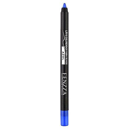 Lápis Delineador Para Olhos Azul - Fenzza