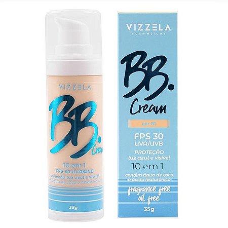 BB Cream 10 em 1 FPS 30 - Vizzela