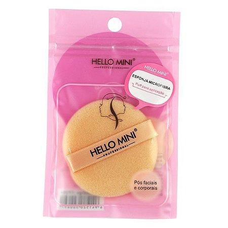 Esponja Puff de Microfibra - Hello Mini