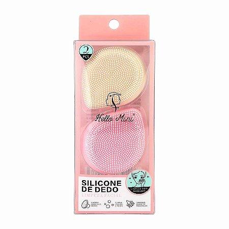 Kit de Esponjas de Silicone para Limpeza Facial - Hello Mini