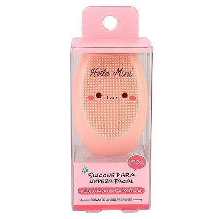 Esponja de Silicone para Limpeza Facial - Hello Mini