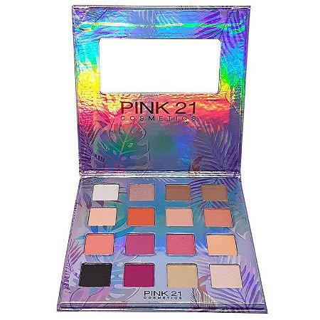 Paleta de Sombras Girls Inspire 16 Cores - Pink 21