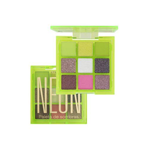 Paleta de Sombras Neon Verde - New Face