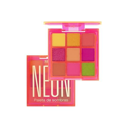 Paleta de Sombras Neon Laranja - New Face