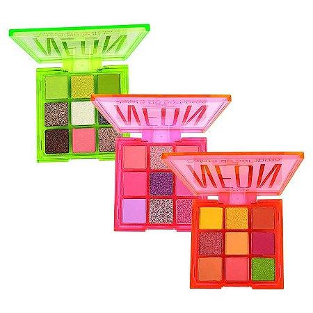 New Face Kit 3 Paletas Neon