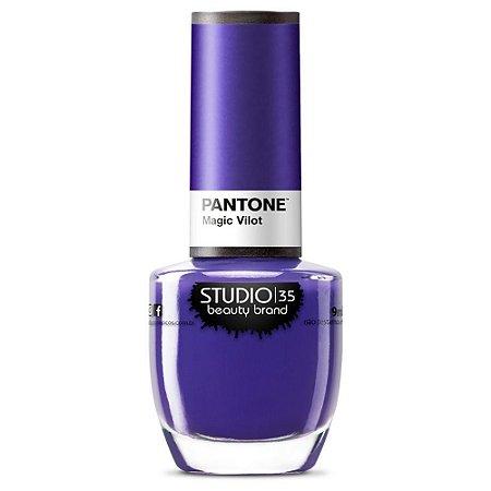 Esmalte Pantone Magic Violet - Studio 35