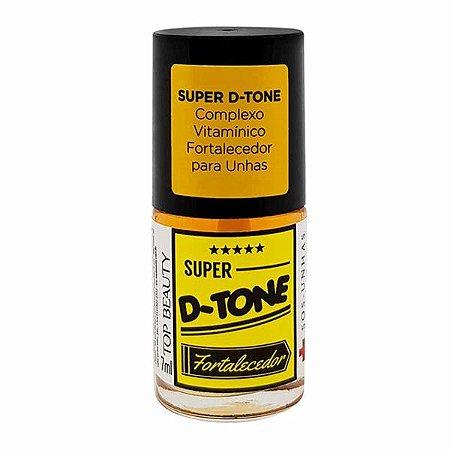 SOS Super D-Tone Complexo Vitamínico Fortalecedor para Unhas - Top Beauty