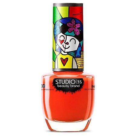 Esmalte Romero Britto O Amor Contagia - Studio 35