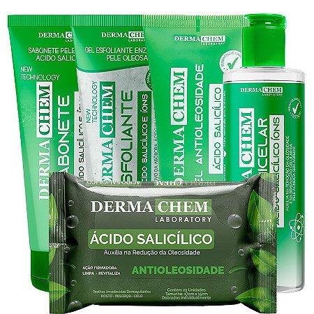 Dermachem Kit Antioleosidade com Ácido Salicílico