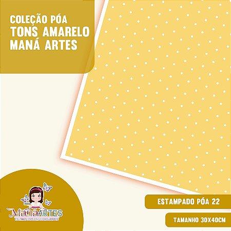 COLEÇÃO POÁS - TONS AMARELO by MANÁ ARTES