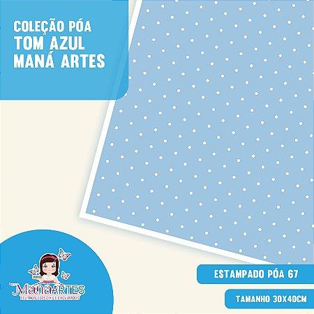 COLEÇÃO POÁS - TONS AZUL by MANÁ ARTES