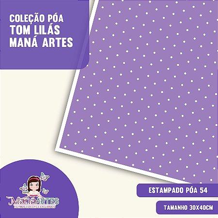COLEÇÃO POÁS - TONS LILÁS by MANÁ ARTES