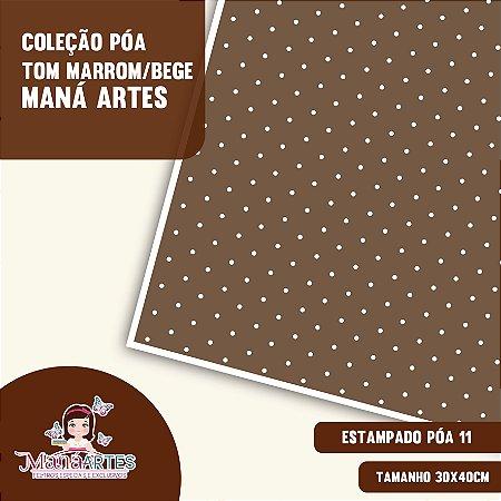 COLEÇÃO POÁS - TONS MARROM by MANÁ ARTES
