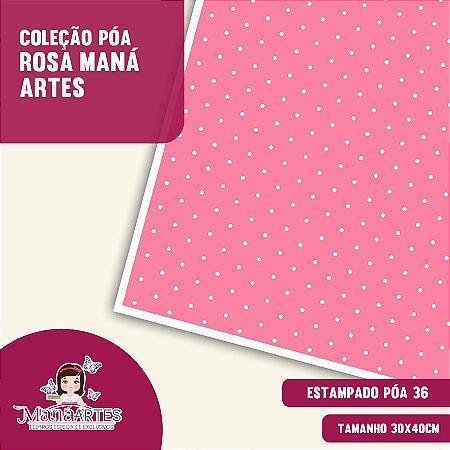 COLEÇÃO POÁS - TONS ROSA by MANÁ ARTES