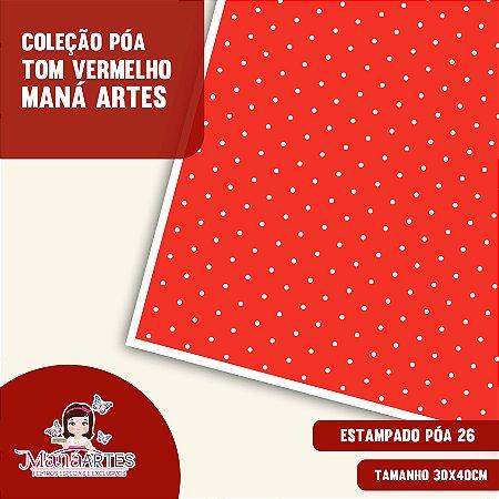 COLEÇÃO POÁS - TONS VERMELHO by MANÁ ARTES