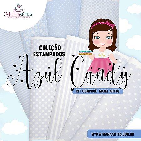 COLEÇÃO ESTAMPADOS - AZUL CANDY MANÁ