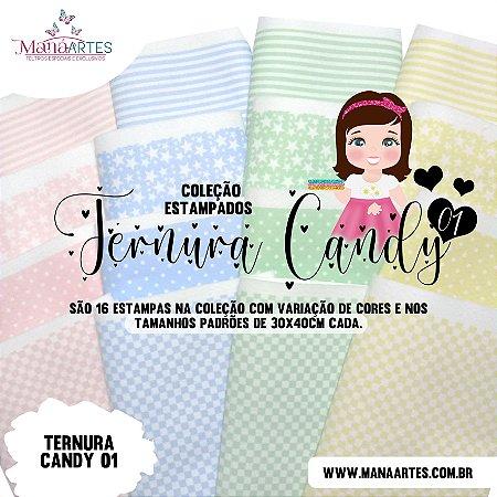 COLEÇÃO ESTAMPADOS TERNURA CANDY 01
