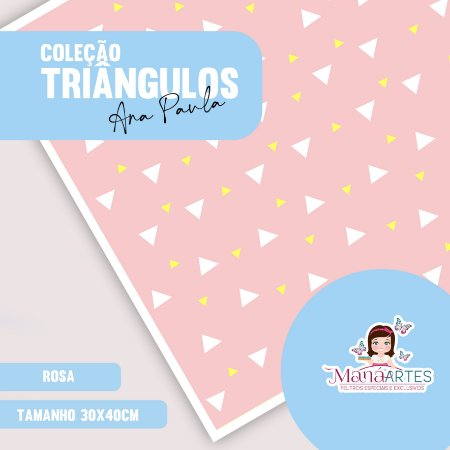 COLEÇÃO TRIÂNGULOS by ANA PAULA