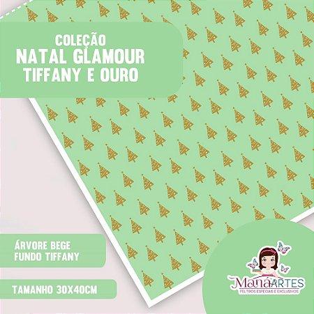 COLEÇÃO NATAL GLAMOUR - TIFFANY E OURO