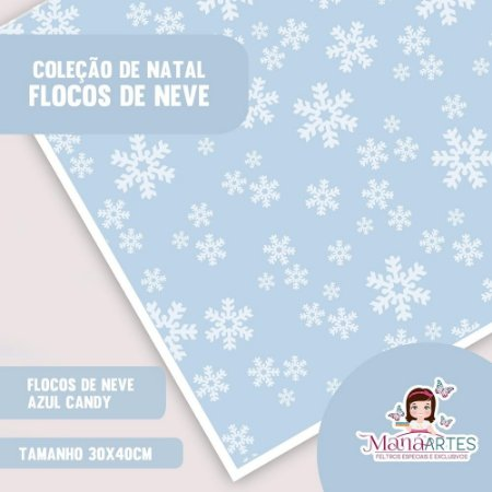 COLEÇÃO FLOCOS DE NEVE CANDY