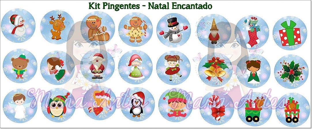 KIT PINGENTES - NATAL ENCANTADO
