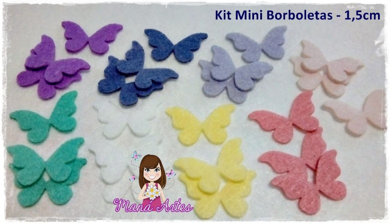KIT MINI BORBOLETAS