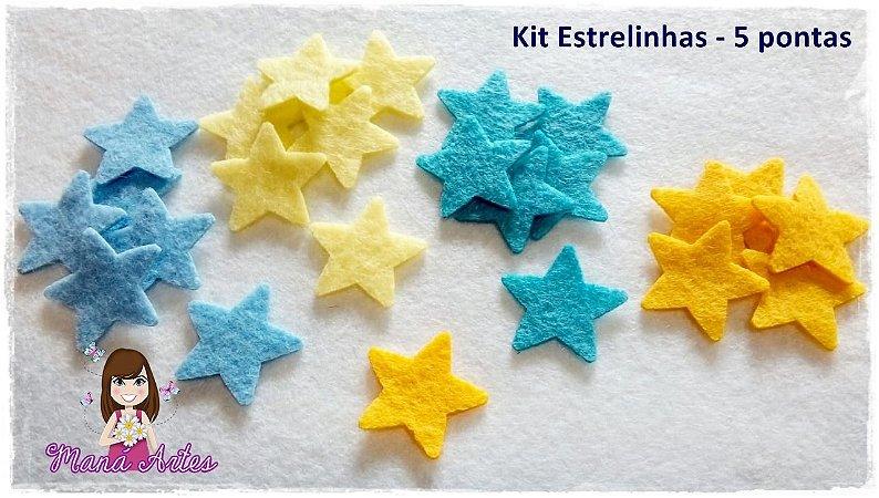 KIT ESTRELINHAS - 5 PONTAS