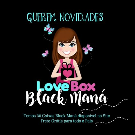LOVEBOX BLACK MANÁ