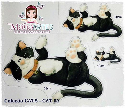SCRAP FELT CATS - NANINHAS 38cm