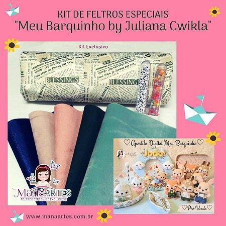KIT DE FELTROS - MEU BARQUINHO by Juliana Cwikla
